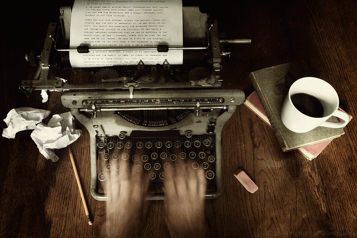 A camera didn't make a great picture anymore than a typewriter wrote a great novel. - Peter Adams