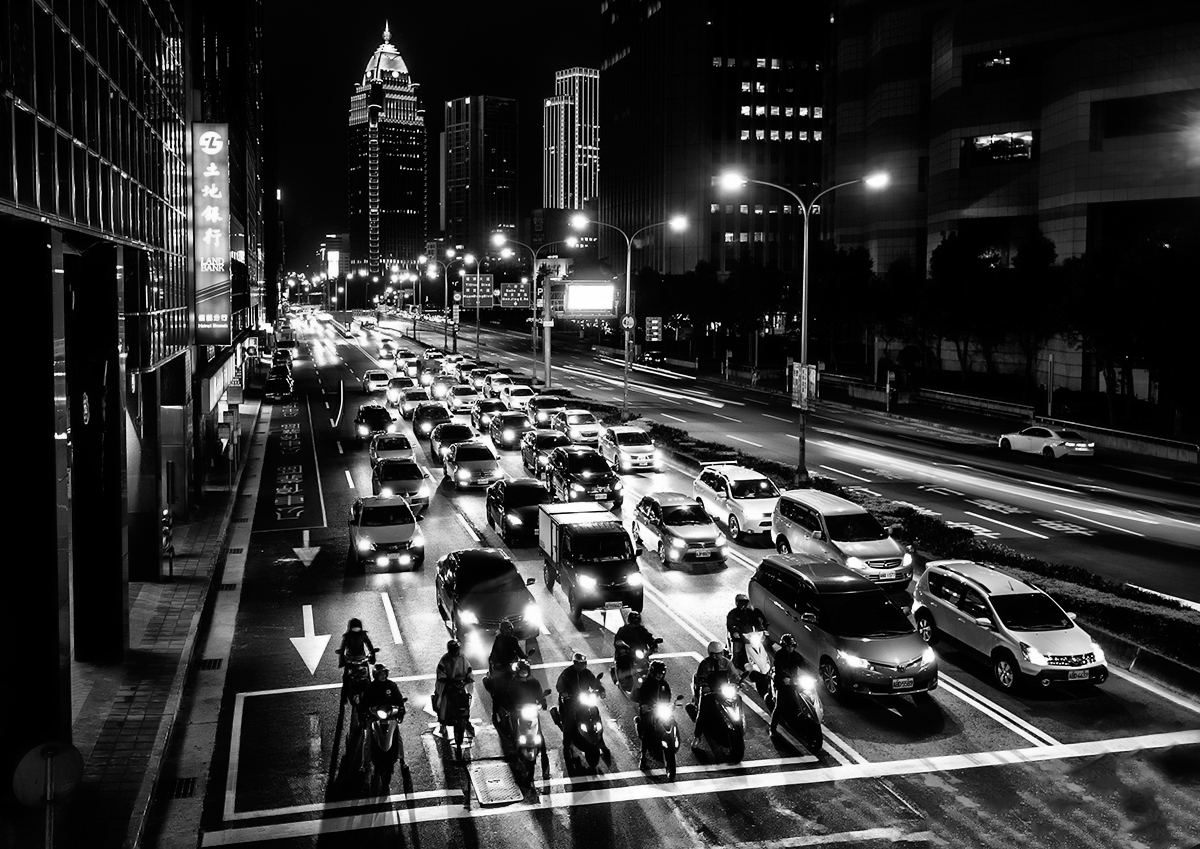 Midnight traffic