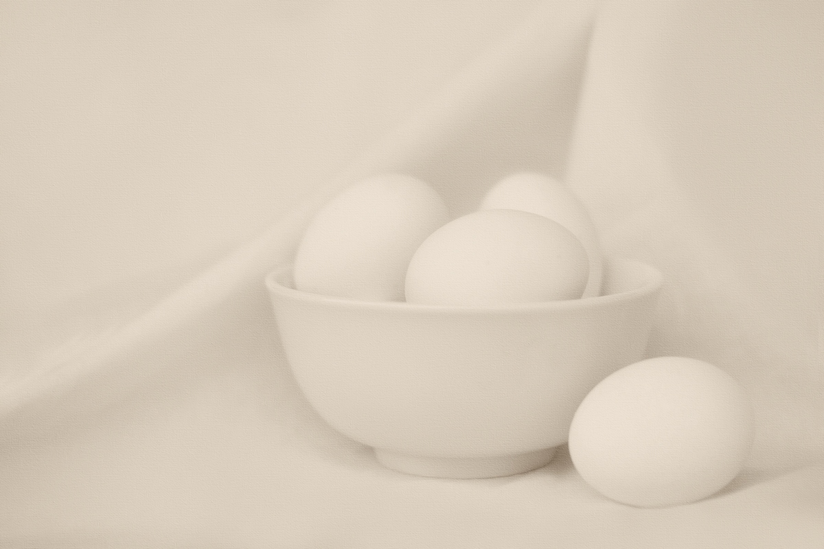Eggs and a Bowl