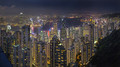 Hong Kong night scene.....