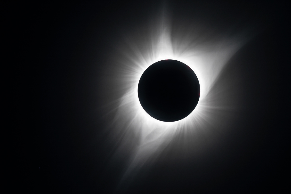 The Sun's Corona at Totality