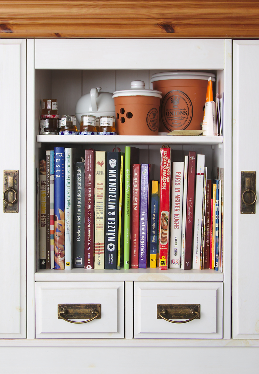 The Cookbook Shelf