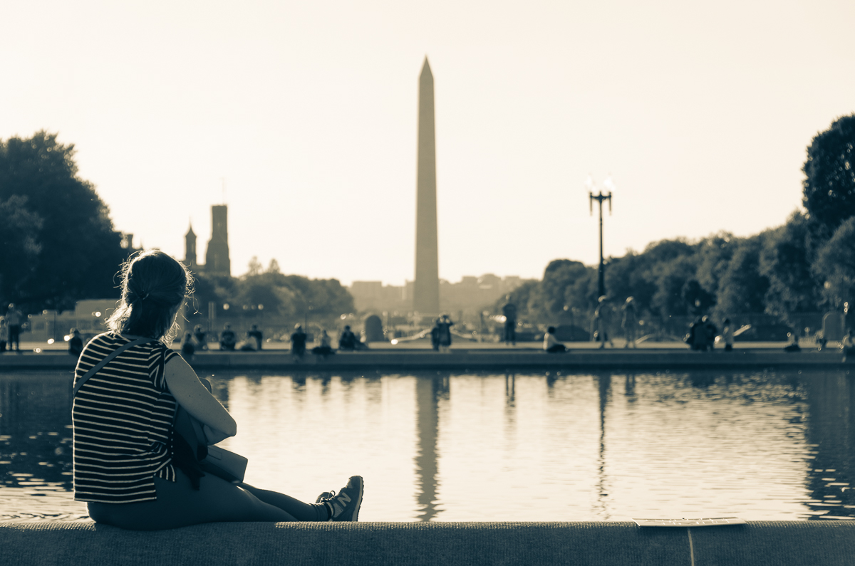 Quiet Contemplation At The Capitol