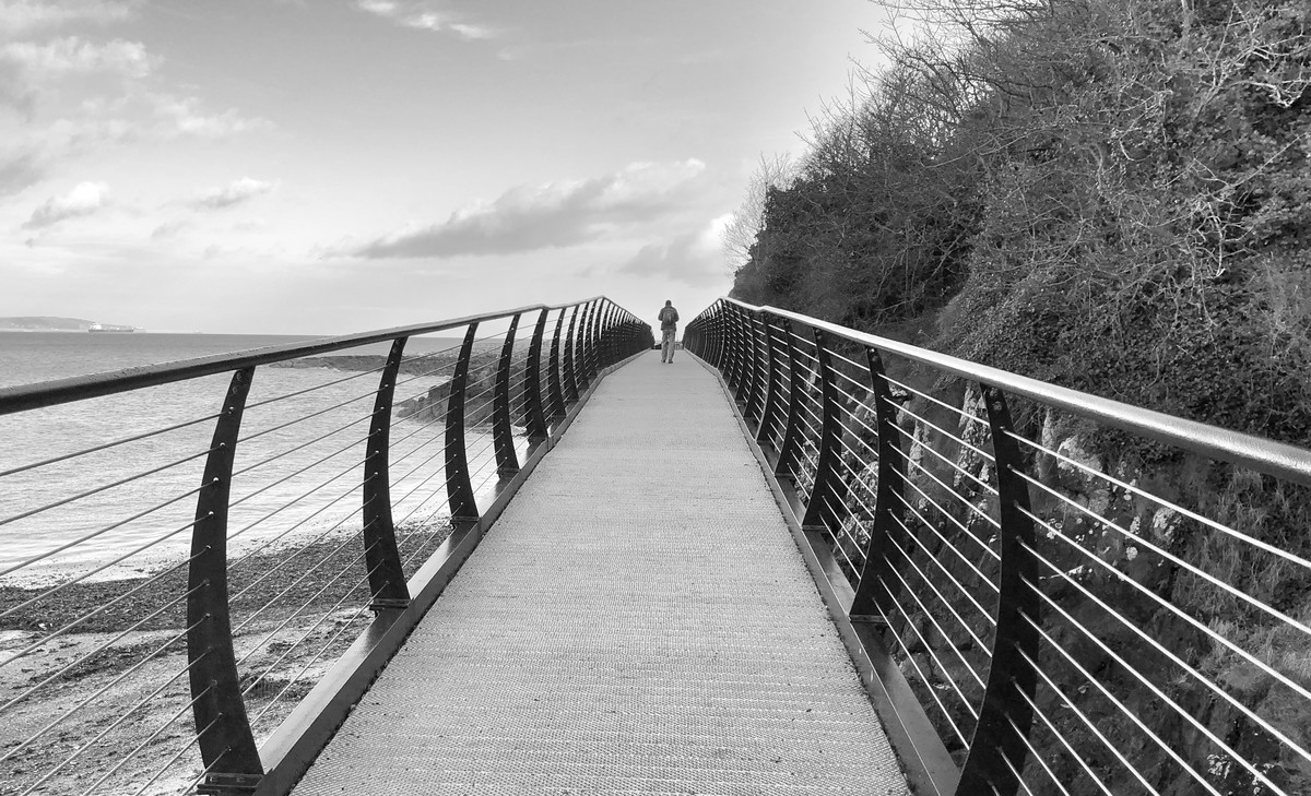 Walkway on Belfast Lough