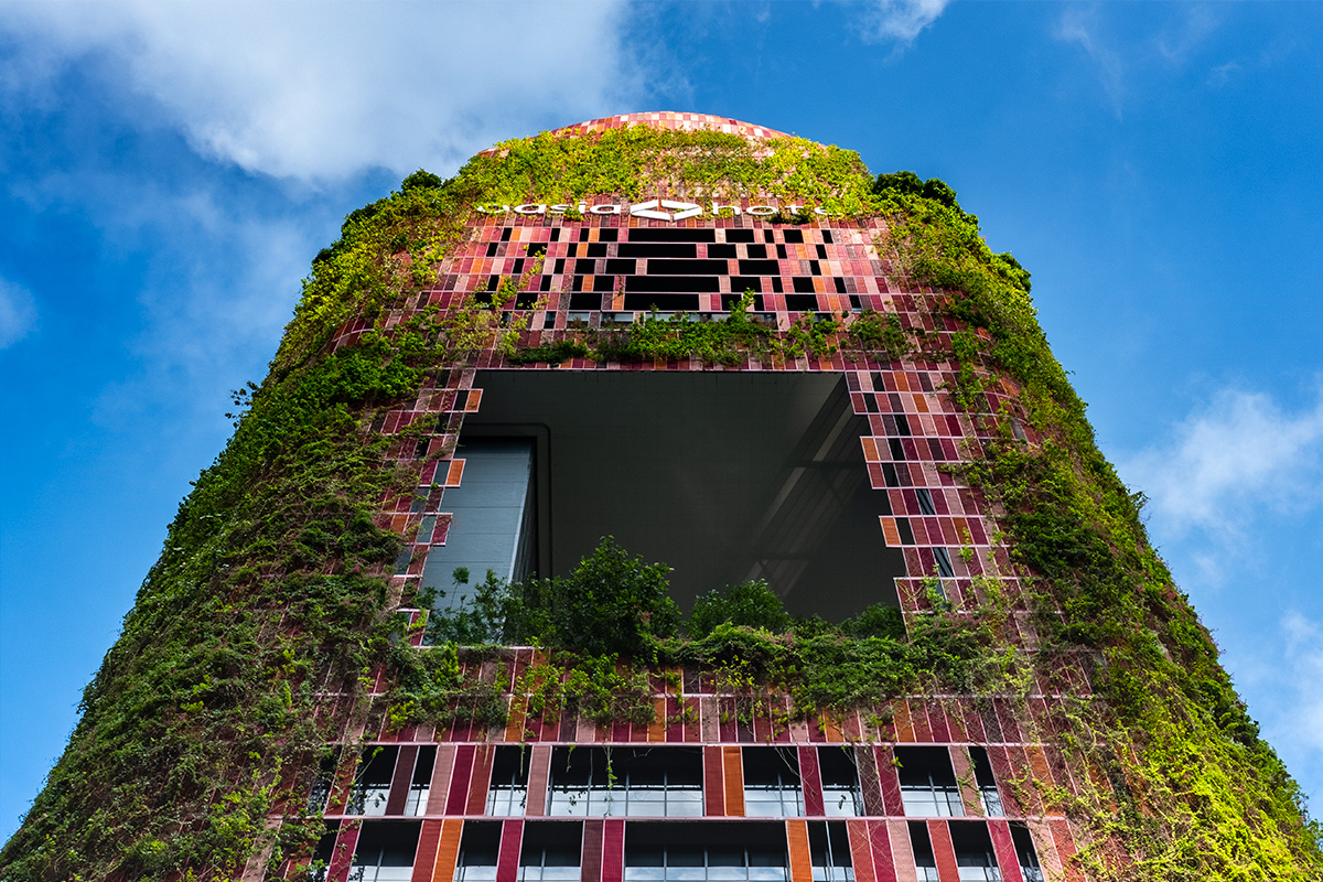 The Living Green Facade