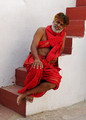 A monk in Jodhpur