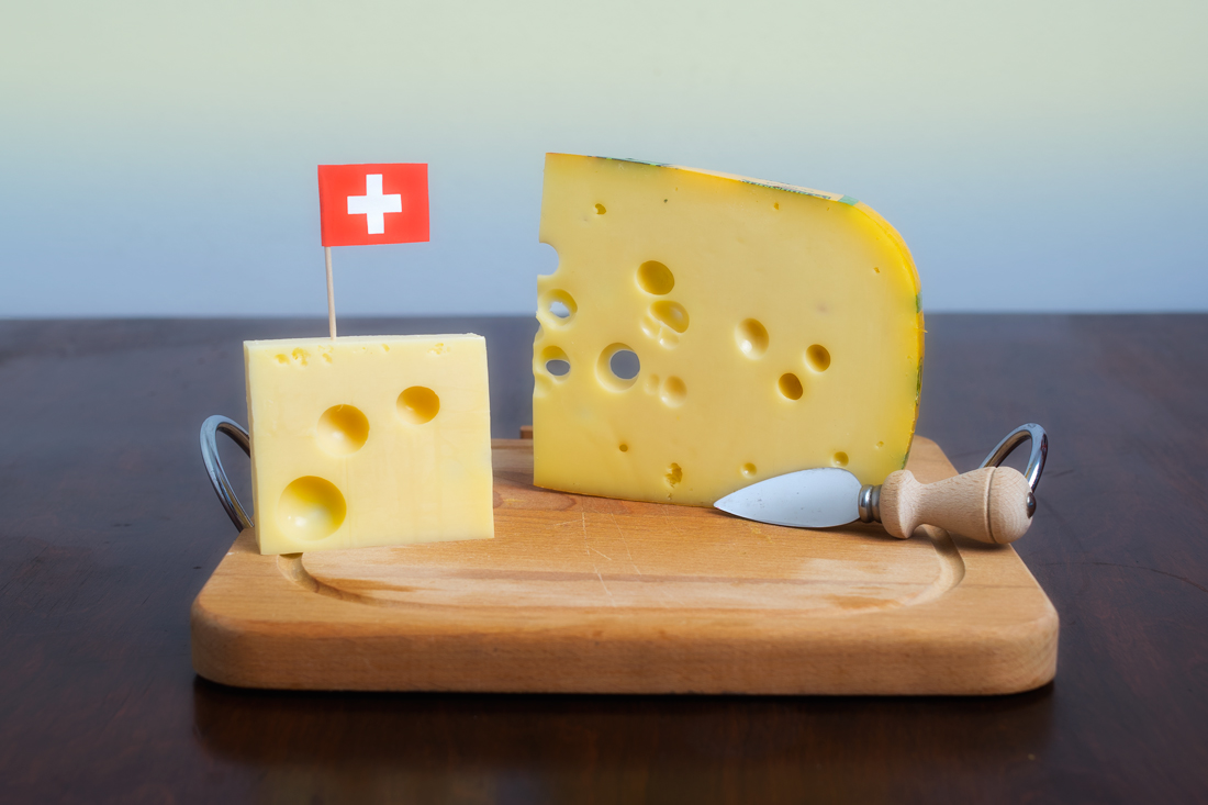 Swiss cheese speciality