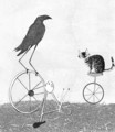Barry happened upon a Bird on a Bicycle