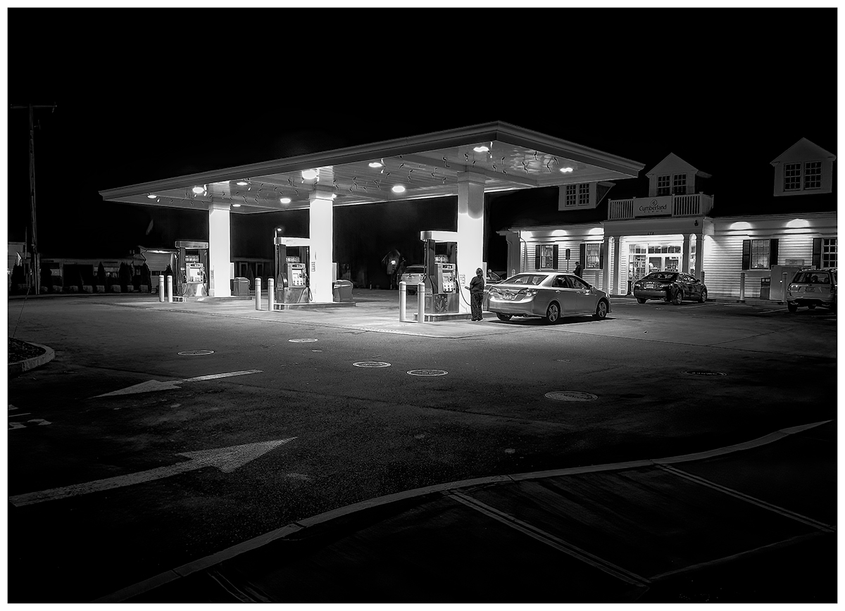 Cumberland Farms, Tuesday Evening