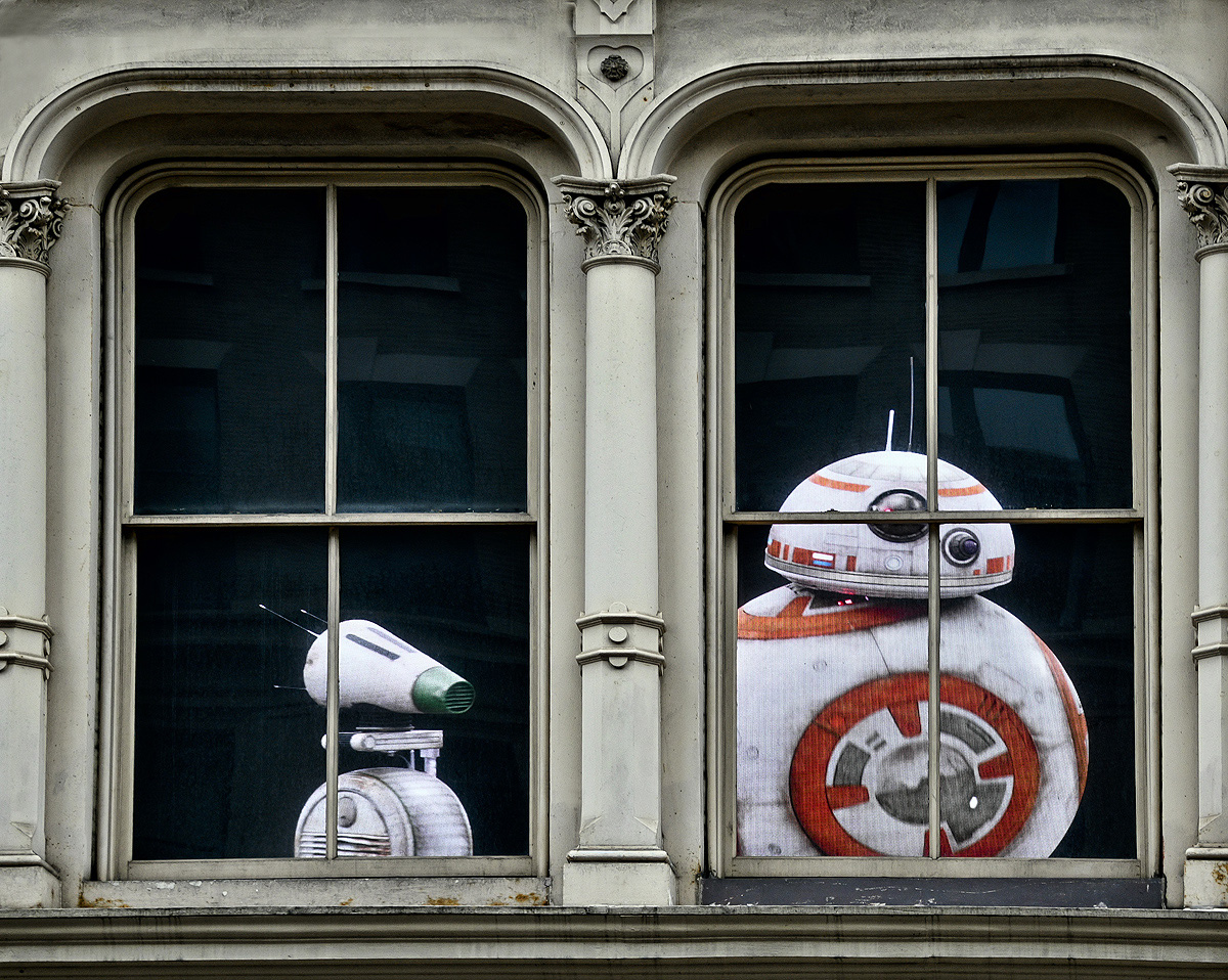 Star Wars Window