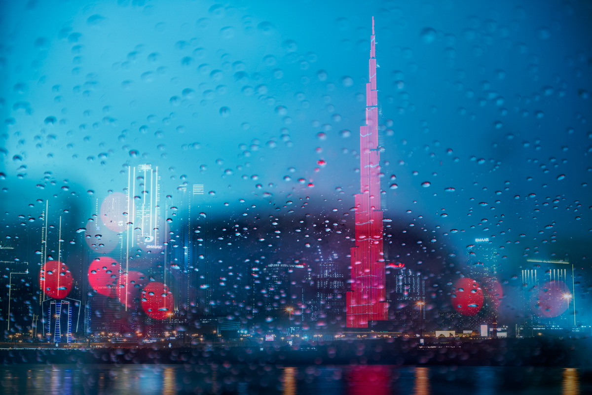 Rain in Dubai