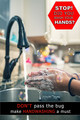 Don't pass the bug, make handwashing a must