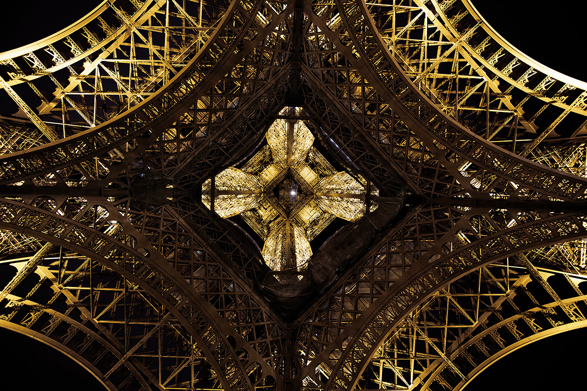 Midnight Under The Eiffel Tower