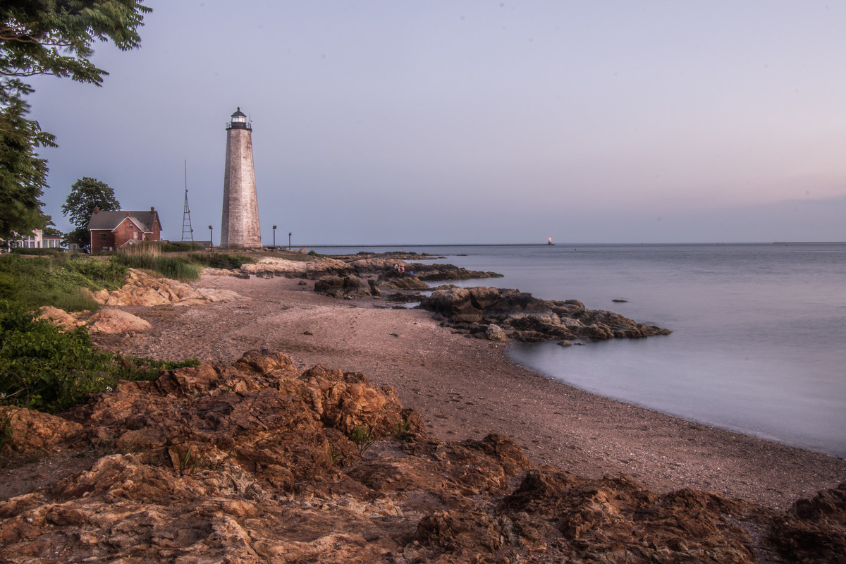 Lighthouse Point. New Haven, CT