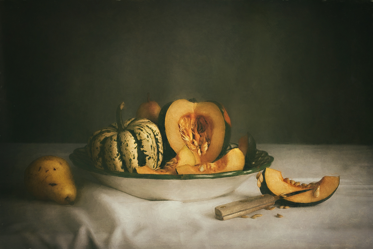 Fall Squash and Pears