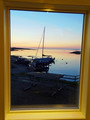 Gold Sailboat (not a frame..I�ts a window)