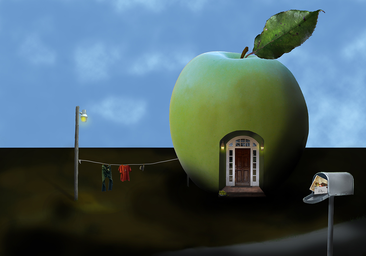 Son of Man's House <br> René Magritte
