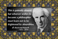 190 Bertrand Russell on Absurdity