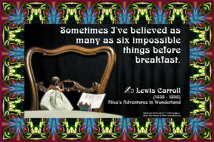105 Lewis Carroll on Imagination