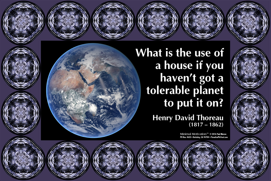 108 Henry David Thoreau on the Environment