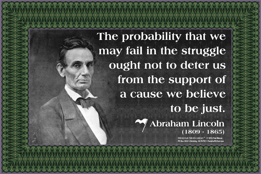 129 Abraham Lincoln on Perseverance