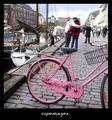 Bicycle in Nyhavn