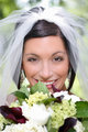 bride w/bouquet
