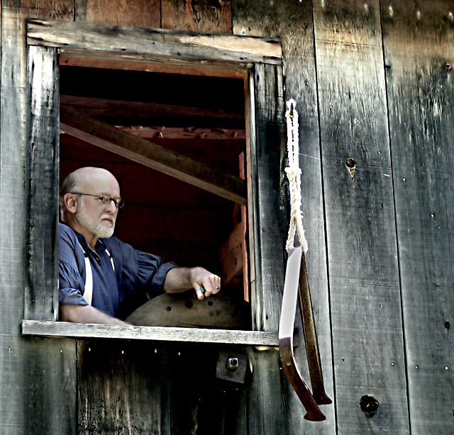 Old Man at the Mill