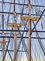 USS Constellation Rigging Baltimore MD