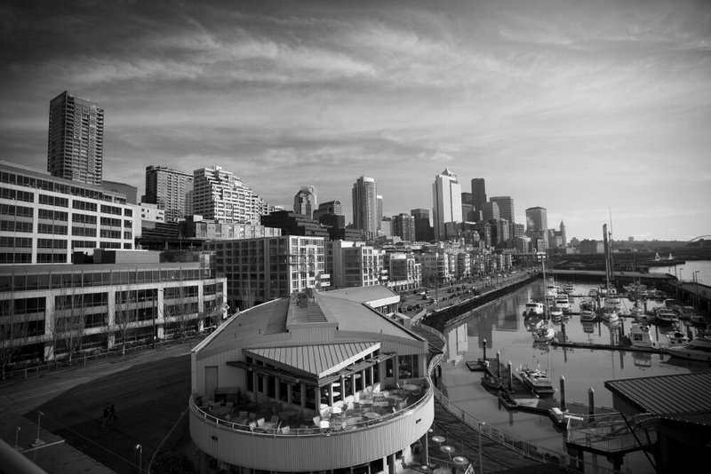Seattle in BW
