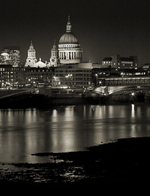 St Pauls from the Beach