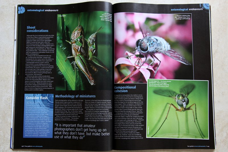 Digital Photography Magazine - pages 5 & 6 of roz's article