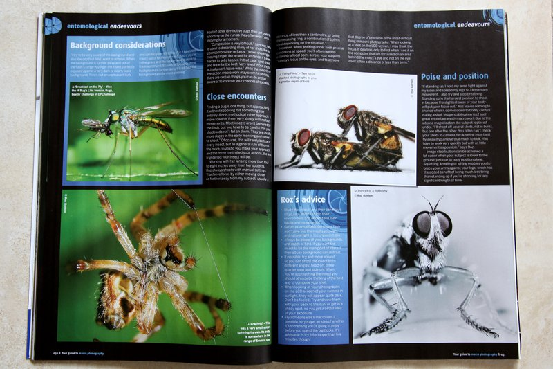 Digital Photography Magazine - pages 7 & 8 of roz's article