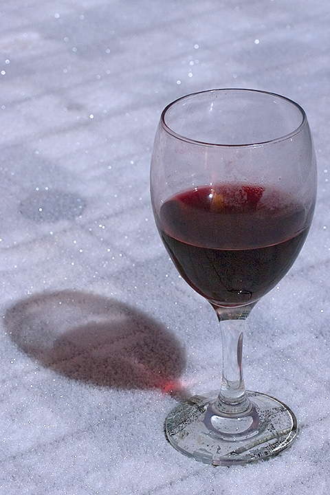 Day 009 - Wine in moonlight