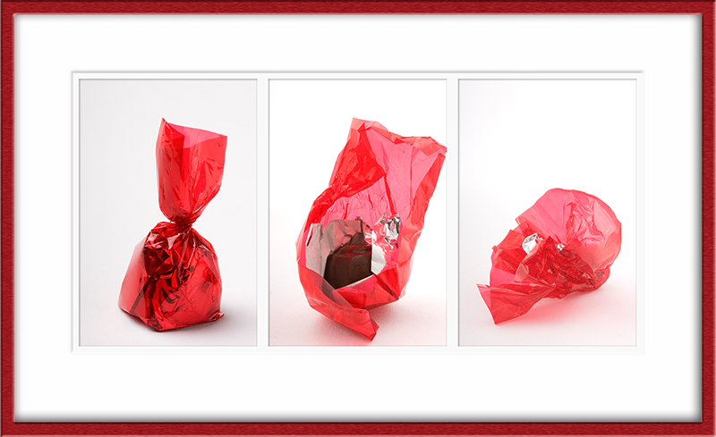Feb 15 - Chocolate in red