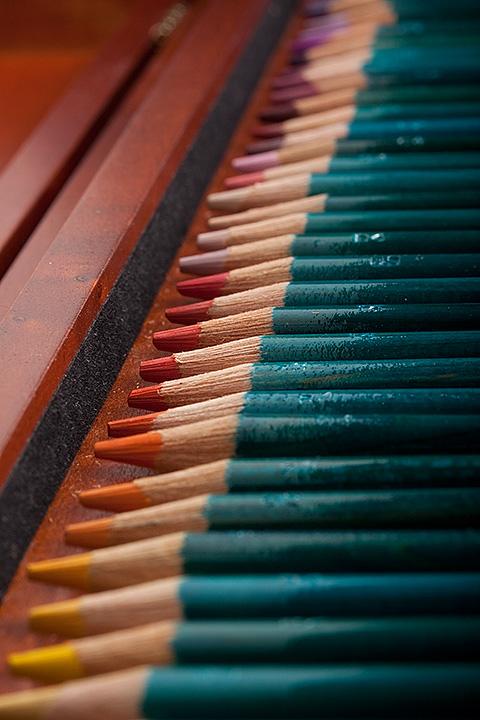 March 21 - Color pencils