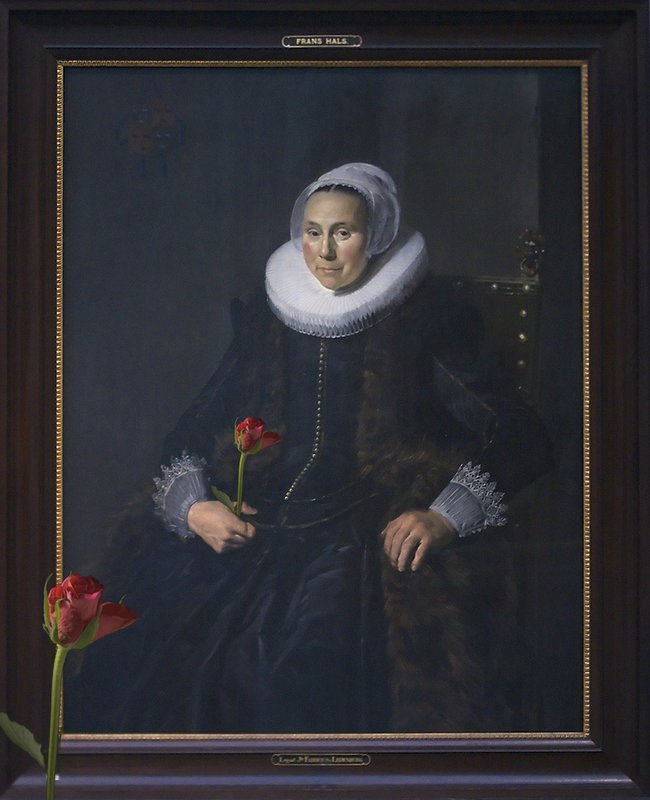 June 20 - Lady with rose