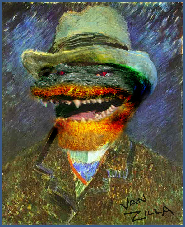 Self Portrait Vincent-van-Zilla